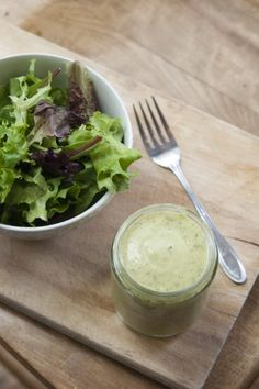 Clean Eating Avocado Lime Ranch Dressing Recipe