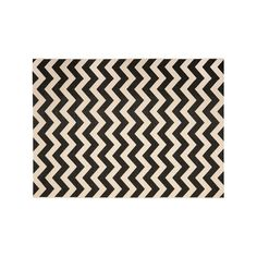 Safavieh Courtyard Zigzag Chevron Indoor Outdoor Rug, Black, Durable #OutdoorRugs