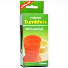 Coghlan's Collapsible Tumblers * More info could be found at the image url.