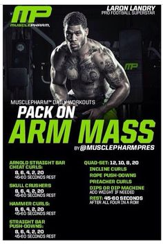 Pack on arm mass