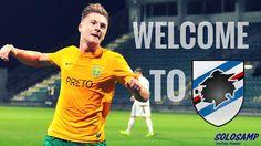 MILAN SKRINIAR - Welcome to Sampdoria - Škriniar Goals Skills MSK ZILINA...
