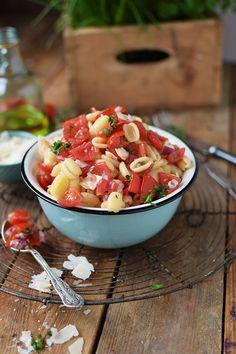 Bruschetta Pasta Salat - Bruschetta Pasta Salad (8)