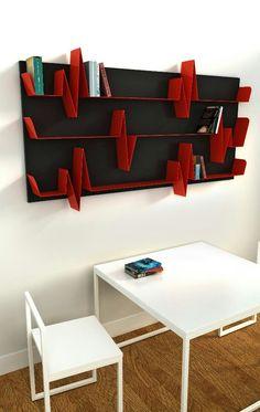 EKG bookshelf