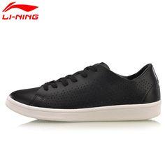 Li-Ning Women's LN Eternity Walking Shoes Cushion Breathable LiNing Heritage Sports Shoes Sneakers  AGCM108 YXB057