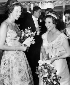 Princess Margaret with the Cartier Halo tiara in 1964.