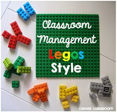 Classroom Management Legos Style! Awesome for table groups!