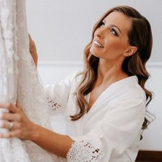 """Jody Callan Hair on Instagram: """"Soft glam wave 🤍 My beautiful bride tahni 🤍🤍 Just adding more professional pics to my page… Image captured by the talented…"""" Bell Sleeves, Bell Sleeve Top, Beautiful Bride, Waves, Hair Styles, Wedding, Instagram, Image, Fashion"""