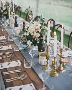 """660 Likes, 5 Comments - Aisle Society (@aislesociety) on Instagram: """"Farm table chic: a #reception look to fall in love with from @paperandlace! . Photography:…"""""""