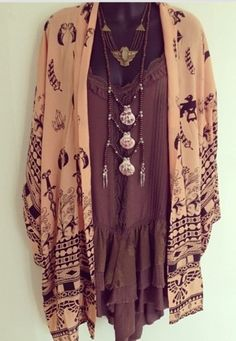 cardigan big necklace aztec style necklace aztec shirt fashion fall outfits dream outfits blouse jewels