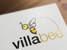 Villabee Villas Mauritius Logo #Logo #o8 #Origin8Concepts #Branding