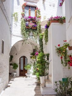 Cisternino is one of the most beautiful towns in Puglia, Italy