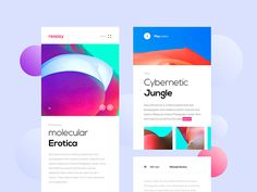 Hello guys :) A simple concept of responsive page where I've tried to make mobile page more usable with features