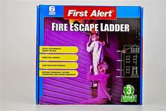 Mayday 3 Story Fire Escape LadderThis 3 story, tangle free, escape ladder is easy to use and quickly attaches to any window. Fully assembled. Compact design for