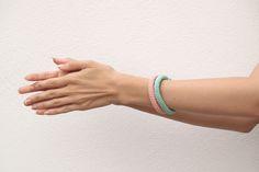 Pulseras de crochet / Crochet bracelets by Silayaya