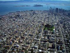 Looking toward downtown San Francisco