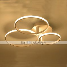 Led living Room Ceiling lamp Round Bedroom Dining Room lamp 4952467 2016 – £129.14
