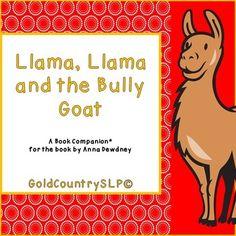 Llama, Llama and the Bully Goat A Social Language Book Companion