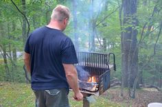 Grill your own - that's out motto - Virginia State Parks