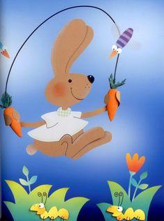 Без заголовка. Обсуждение на LiveInternet - Российский Сервис Онлайн-Дневников Book Crafts, Arts And Crafts, Paper Crafts, Diy Crafts, Preschool Bulletin Boards, Wind Spinners, Nursery School, Diy Origami, Easter Crafts For Kids