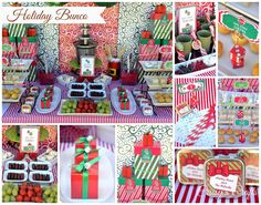 Holiday Bunco Christmas/Holiday Party Ideas | Photo 1 of 17 | Catch My Party