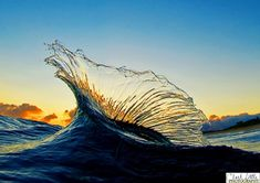 These incredible images of waves were taken by the number 1 photographer of surf: Clark Little. He has dedicated his life to photographing the waves and has Waves Photography, Image Photography, Amazing Photography, Shutter Photography, Motion Photography, Levitation Photography, Experimental Photography, Exposure Photography, Winter Photography