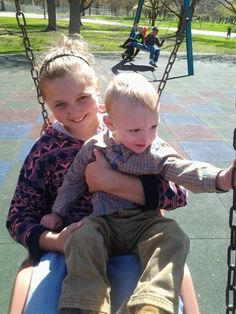 Raylie and Brayson.