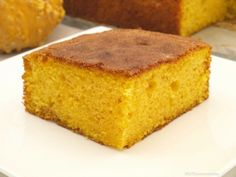 Coca de calabaza - MisThermorecetas Muffins, Plum Cake, Lactose Free, Dessert Recipes, Desserts, Yummy Recipes, Sin Gluten, Flan, Cooking Time