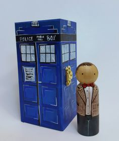 Hey, I found this really awesome Etsy listing at https://www.etsy.com/listing/494826742/dr-who-tardis-peg-doll-set