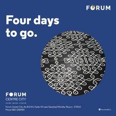 Brace yourself... #nammamysuru #MaharajaofMalls #Openingsoon #forummysuru
