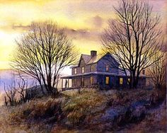 Early to Rise.... by Jim Gray..... Limited Edition Lithograph of 1500 numbered and signed 19 x 15 1/4