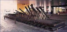 Ola a ritmo de txalaparta (1986-1987) Augustin Ibarrola Estación de Chamartín Madrid
