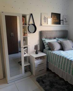 Home Decoration For Ganpati Room Design Bedroom, Room Ideas Bedroom, Home Room Design, Small Room Bedroom, Home Decor Bedroom, Bedroom Colors, Study Room Decor, Bedroom Decor For Teen Girls, Small Room Design