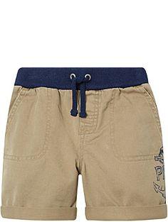RALPH LAUREN Logo cotton utility shorts 6-24 months