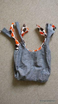 Reversible bag! @mafaldaq