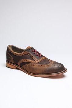 Wingtip Men's Shoe.