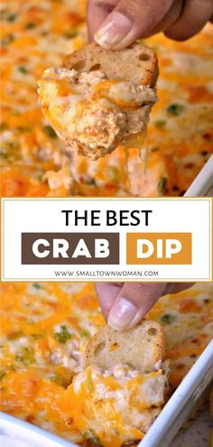Crab Dip Recipes, Seafood Recipes, Appetizer Recipes, Dinner Recipes, Cooking Recipes, Party Food Recipes, Best Dip Recipes, Crab Appetizer, Seafood Appetizers