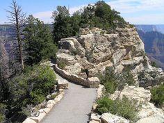 Bright Angel Point Trail, North Rim, Grand Canyon National Park, Arizona