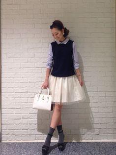 31 Sons de mode♡ | ai♡さんの「31 Sons de mode ★新作★チュールストライプスカート」を使ったコーディネート