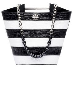15 black and white accessories to shop for fall: Balenciaga bag.