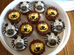 Lions and zebras for zoo party