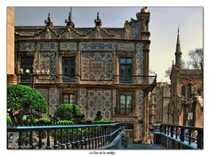 The first Sanborns in Mexico, La Casa de Azulejos. This house is more than a 100 years old