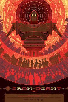 Mondo Tees Poster Art - THE IRON GIANT, HELLRAISER, THE MIST andMore - News - GeekTyrant