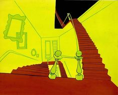 Chuck Jones Backgrounds by Maurice Noble