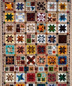 African Quilt. Awesome Colors.