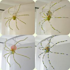 Make your own spiders