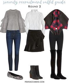 b8de7e20ad3 Complete Winter Sorority Recruitment Outfit Guide