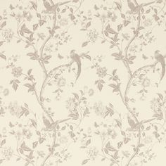 Summer Palace Dove Grey Floral Wallpaper at Laura Ashley Grey Floral Wallpaper, Trendy Wallpaper, Of Wallpaper, Pattern Wallpaper, Wallpaper Ideas, Grey Wallpaper Living Room, Living Room Background, Laura Ashley, Leather Wall