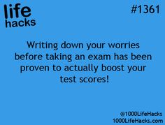 And after the exam you'll begin to realize they aren't really anything to worry about.