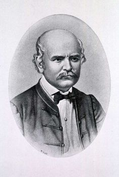 Ignaz Philipp Semmelweis (1818-1865 https://pinterest.com/pin/287386019942393478).