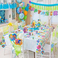 Bubble Guppies Party Ideas Decorations Click To View Larger